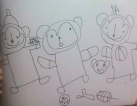子どもの絵の画像