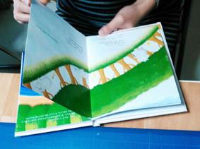 ab-絵本創作塾 1冊の絵本を作ってみるコース製本完成