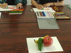 色鉛筆実技1