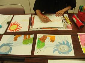 絵本塾課題「絵本の絵を描く」