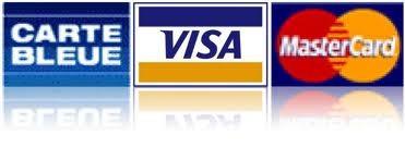 Carte bleue, visa, mastercarte par Paypal e-mail