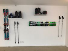 Wandhalterung Wandmontage Ski horizontal vertikal Ski Halterung wall mount