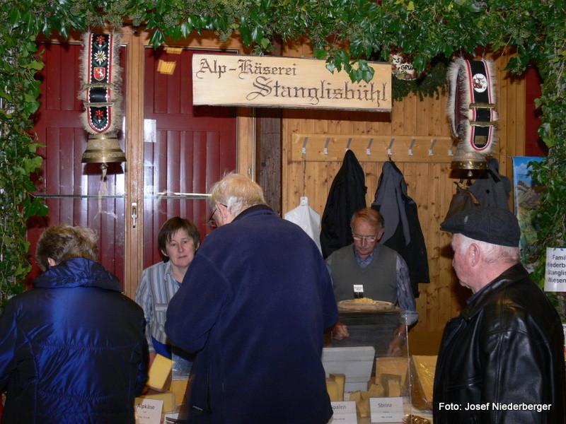 Präsenz der Alpkäserei Stanglisbühl, Wiesenberg