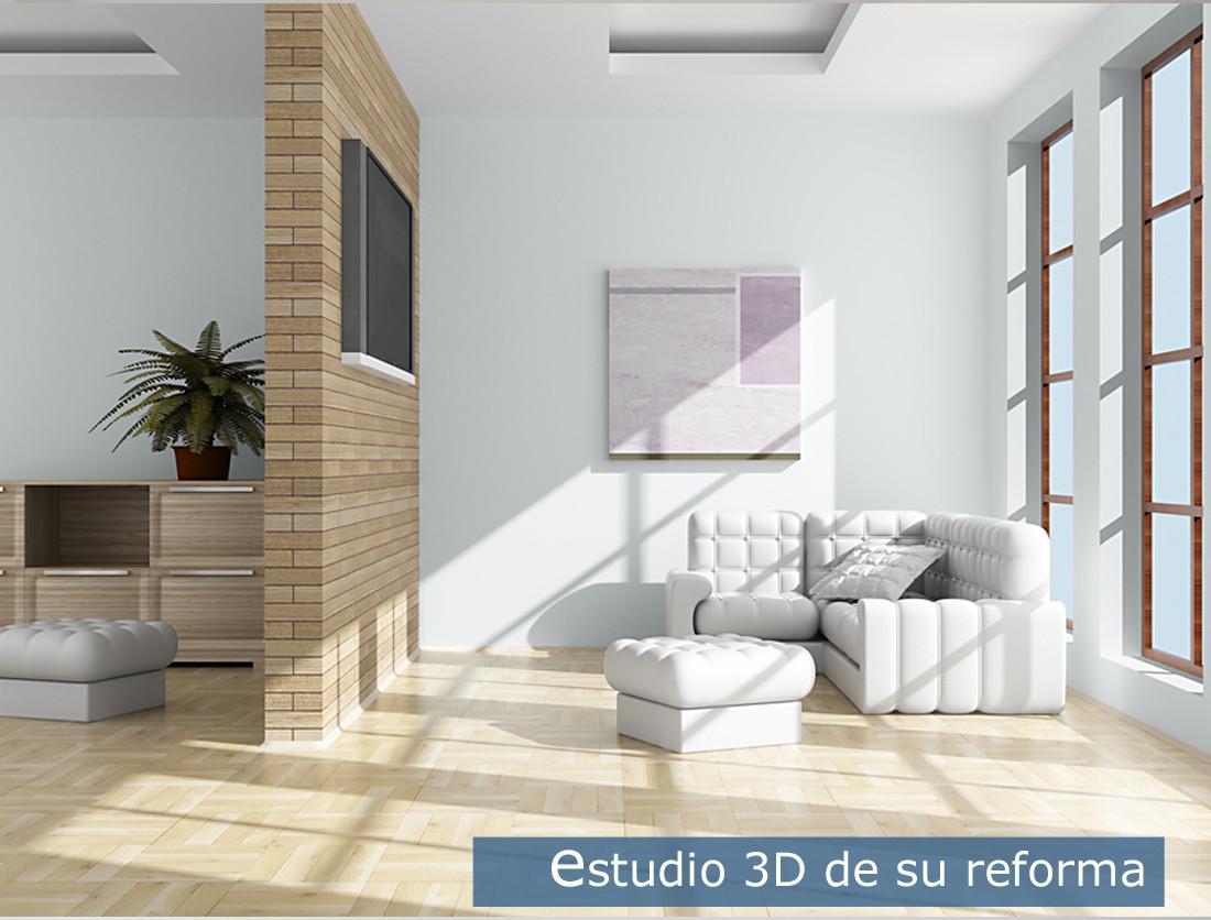 Estudio 3D de su reforma