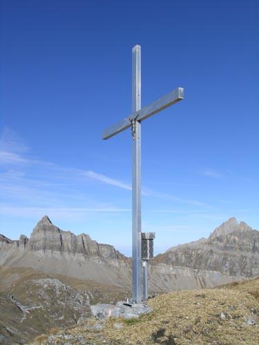 Gipfelkreuz auf dem Gamperstock