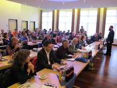 Auf dem Fach-Workshop - Foto: C. Stierstorfer