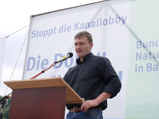 Dr. Christian Stierstorfer sprach heuer für den LBV