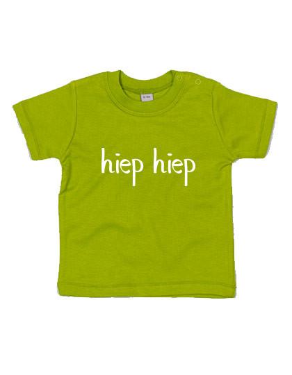 Baby T-shirt 'Hiep hiep'