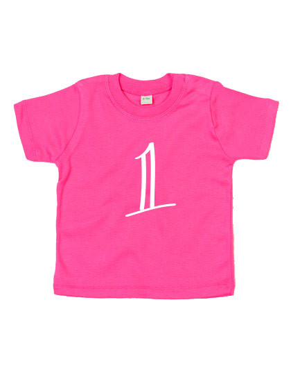 Baby T-shirt 'Eén'