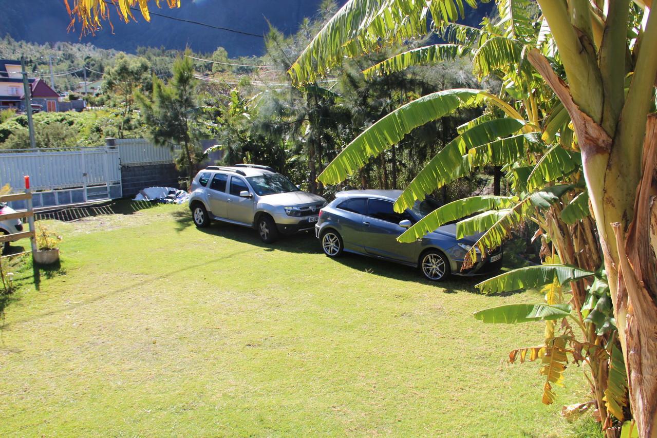 Jardin, Parking privatif