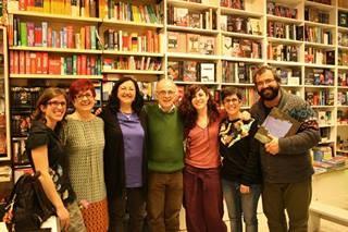 La escritora Inma Chacón celebra el Día de la Mujer en la Librería Jarcha.