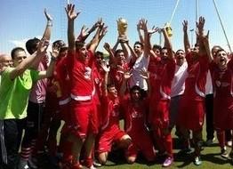 Mayo 2011.  El Juvenil A de la Escuela de Fútbol de Vicálvaro se proclama campeón de liga.