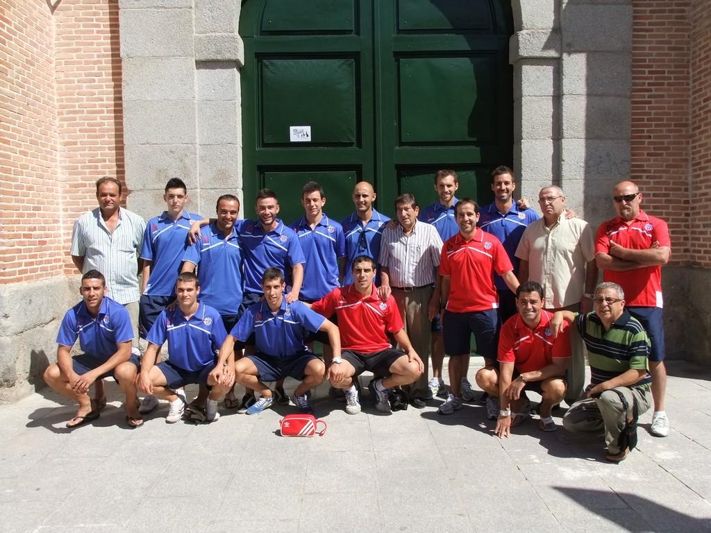 Club Deportivo Vicálvaro. Fotografía cedida por Valentín González. Asociación Vicus Albus