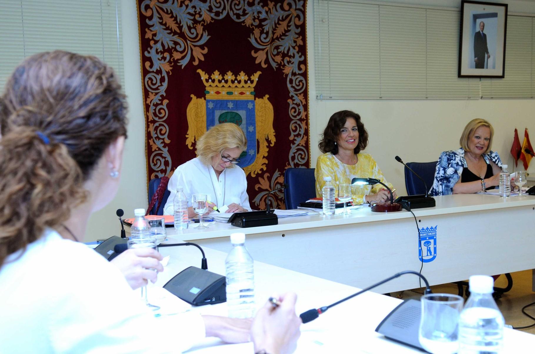 Junta de Gobierno del Ayuntamiento de Madrid en Vicálvaro
