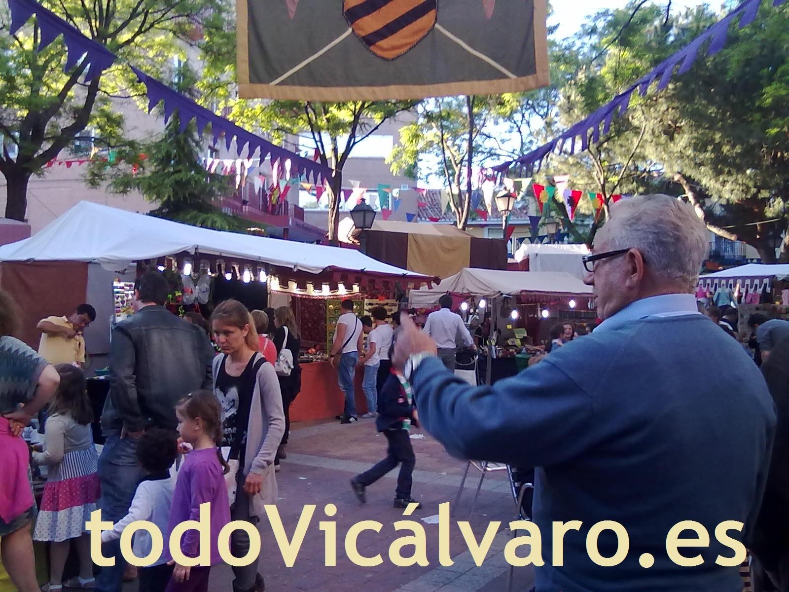 Mayo. Mercado Medieval Vicálvaro.