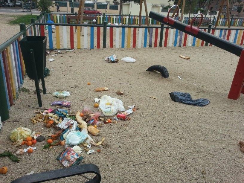 Zona Infantil del parque de la Vicalvarada (Imagen: poliana_sukopo)