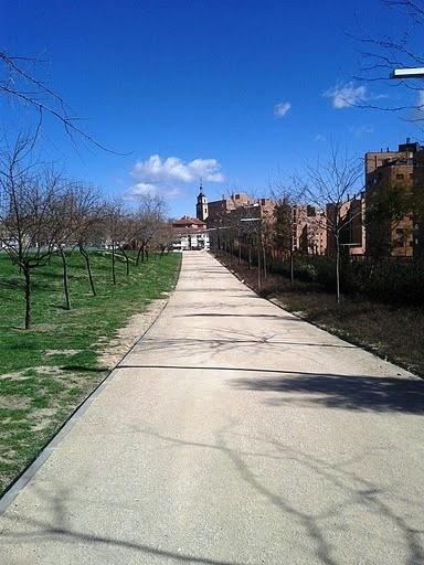 Paseo de domingo por Vicálvaro. 27 de febrero de 2011. Parque de Valdebernardo