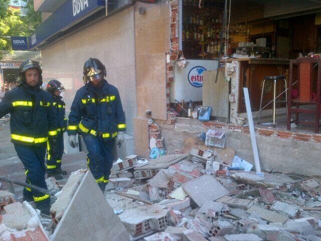 Imágenes del estado del local (Ayuntamiento de Madrid)