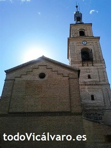 Imagen actual de la iglesia (comenzada a construir en 1593), desde uno de sus laterales