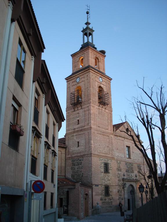 Vista desde la calle Virgen de la Antigua