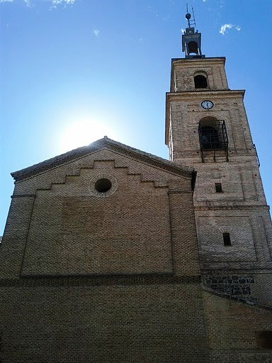 Paseo de domingo por Vicálvaro. 27 de febrero de 2011. Iglesia