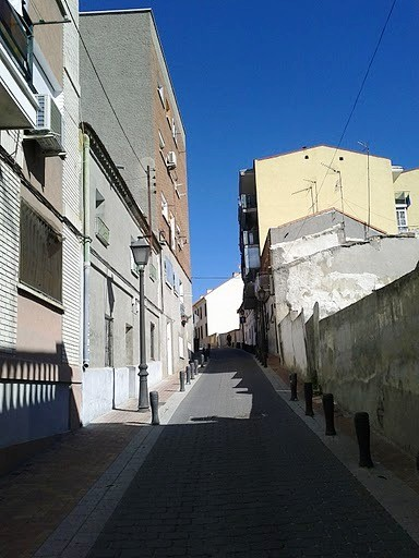 Paseo de domingo por Vicálvaro. 27 de febrero de 2011. Calle Rincón de la Solana