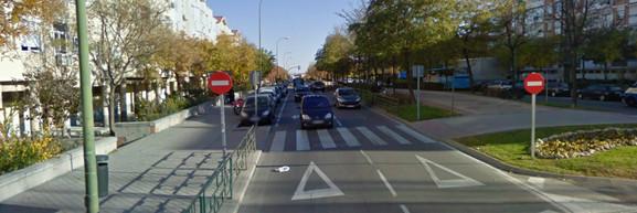 Villablanca, una de las calles más ruidosas