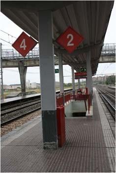 Problemas de accesibilidad Estación Tren Renfe Adif  Vicálvaro