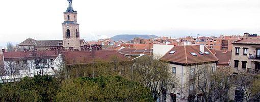 Vista del casco histórico
