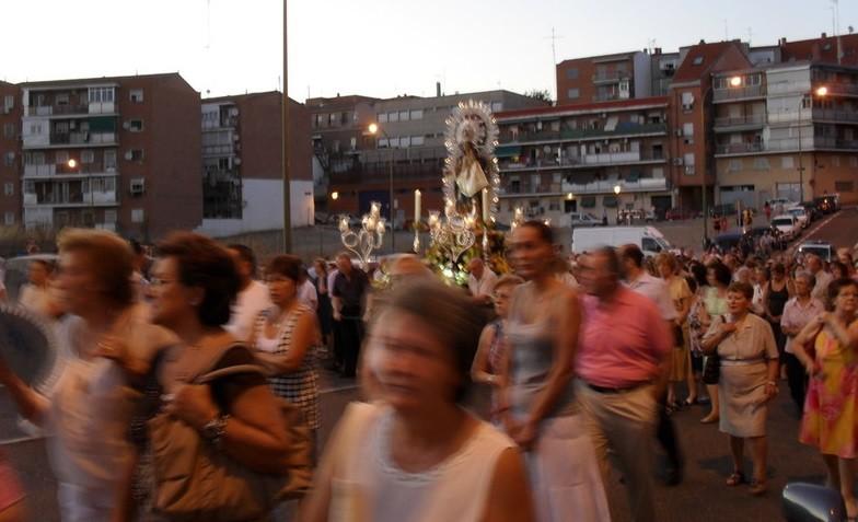 Agosto 2011. Procesión de Nuestra Señora de la Antigua