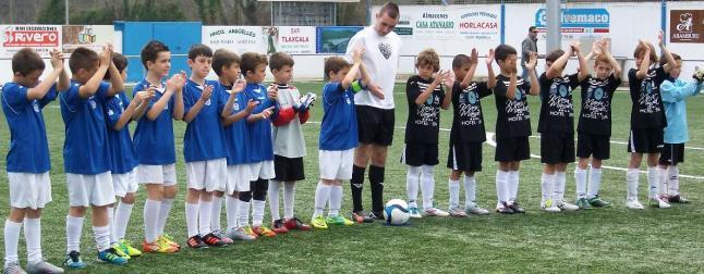 Benjamines CD Vicálvaro Torneo de fútbol de Llanes