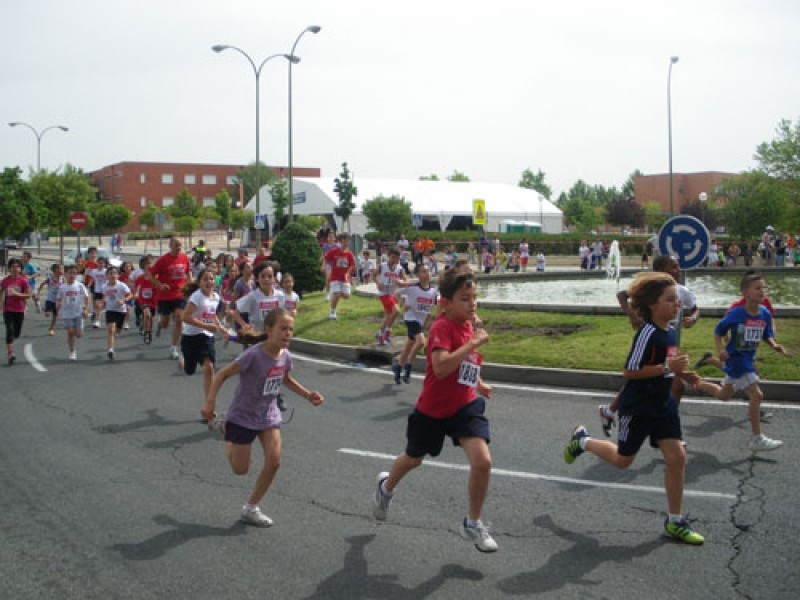 Junio 2012. Carrera Escolar de Valdebernardo.