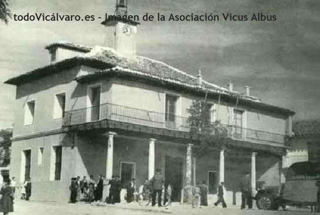 Antiguo ayuntamiento de Vicálvaro (Imagen: Vicus Albus)