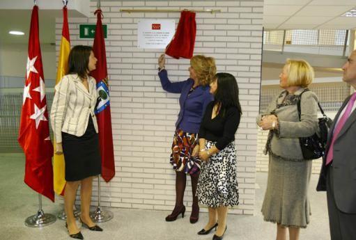 Octubre de 2008. Inauguración dle Colegio Público Winston Churchill