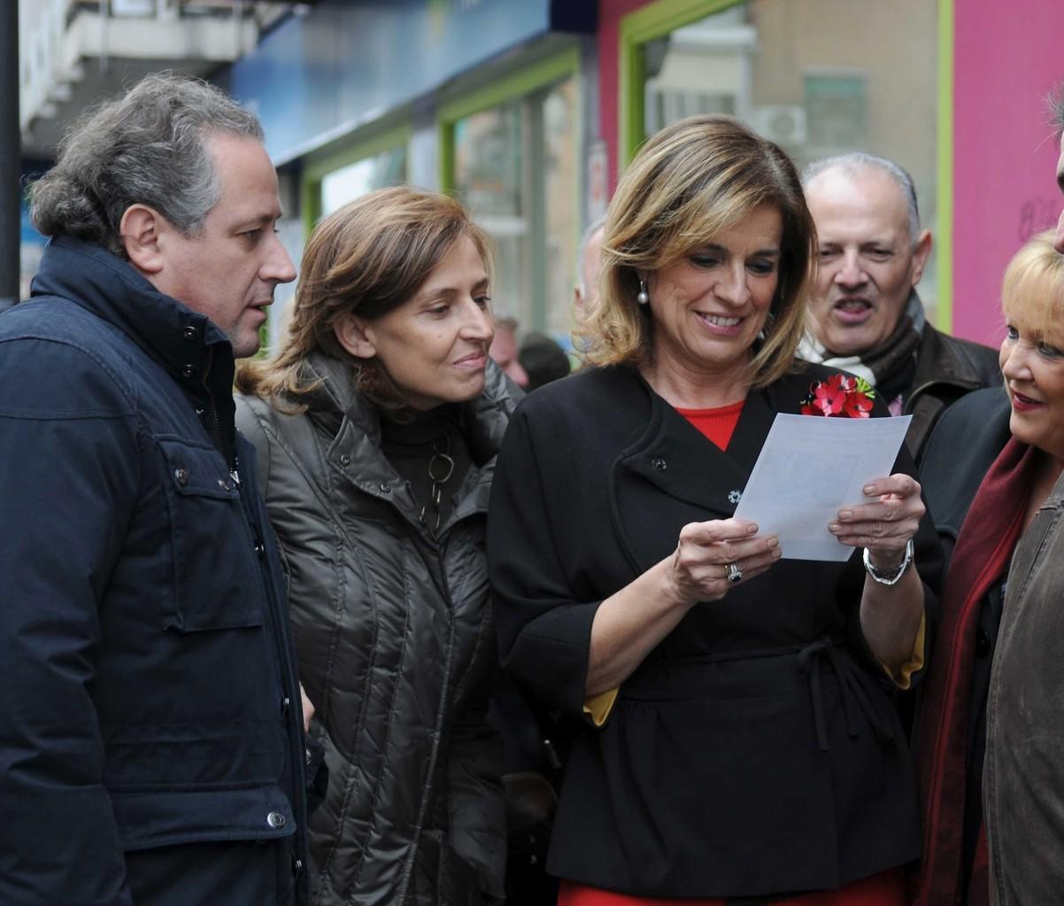Enero 2012. Ana Botella visita Vicálvaro, por primera vez como alcaldesa