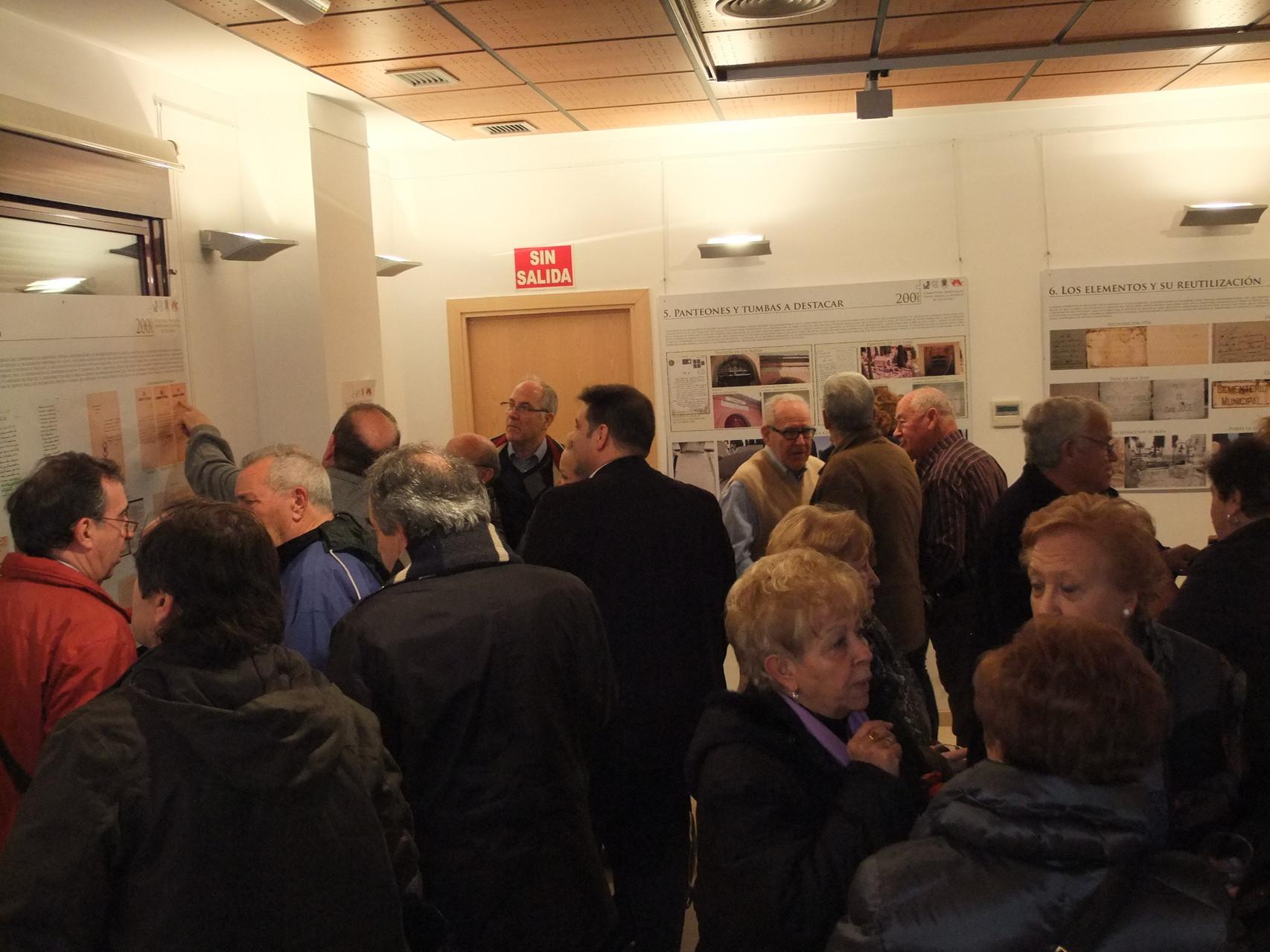 Imágenes de la inauguración de la exposición cedidas por Vicus Albus.