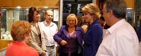Octubre de 2010. Visita de Aguirre al Comité del Partido Popular de Vicálvaro