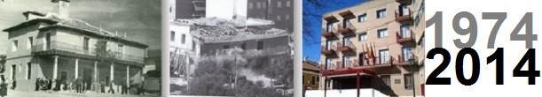 Imagen creada por todoVicálvaro.es para conmemorar los 40 años del derribo del Ayuntamiento de Vicálvaro