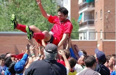 Mayo 2011. El CD Vicálvaro sube a 3ª División.