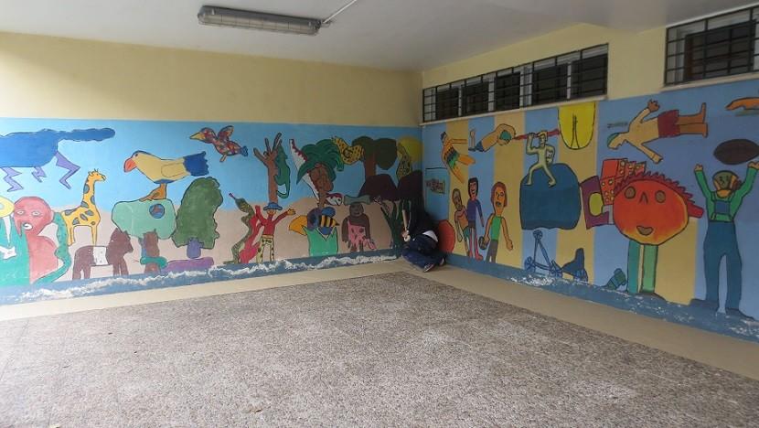 Dando color al Colegio Público Vicálvaro (Ana Belén Fernández) -   13 de diciembre de 2014