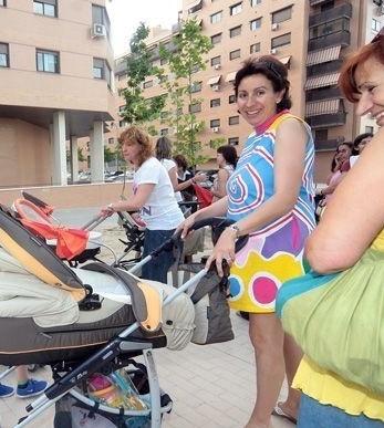 Junio 2010. Calle Minerva, la de más natalidad de todo Madrid