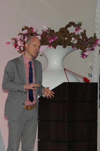 Dr. Christipher Köttgen während seines Vortrages