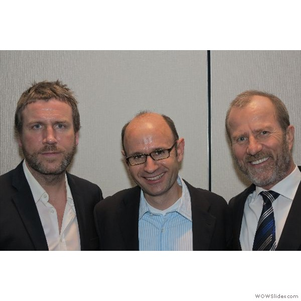 v.l.n.r.  Andreas Nolte, Joachim Maier und Dr. Mellinghoff.