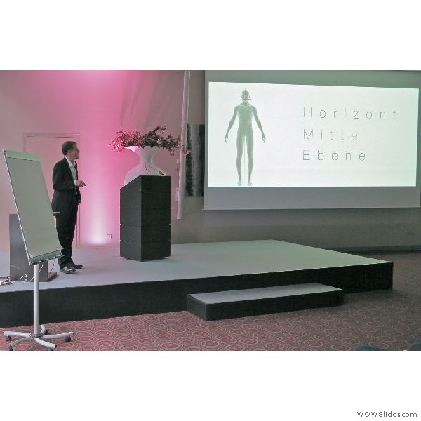 """Ztm. Udo Plaster  (Nürnberg) mit dem Thema- """"Ästhetik, Funktion - Natürliche Zusammenhänge erkennen und nutzen"""""""