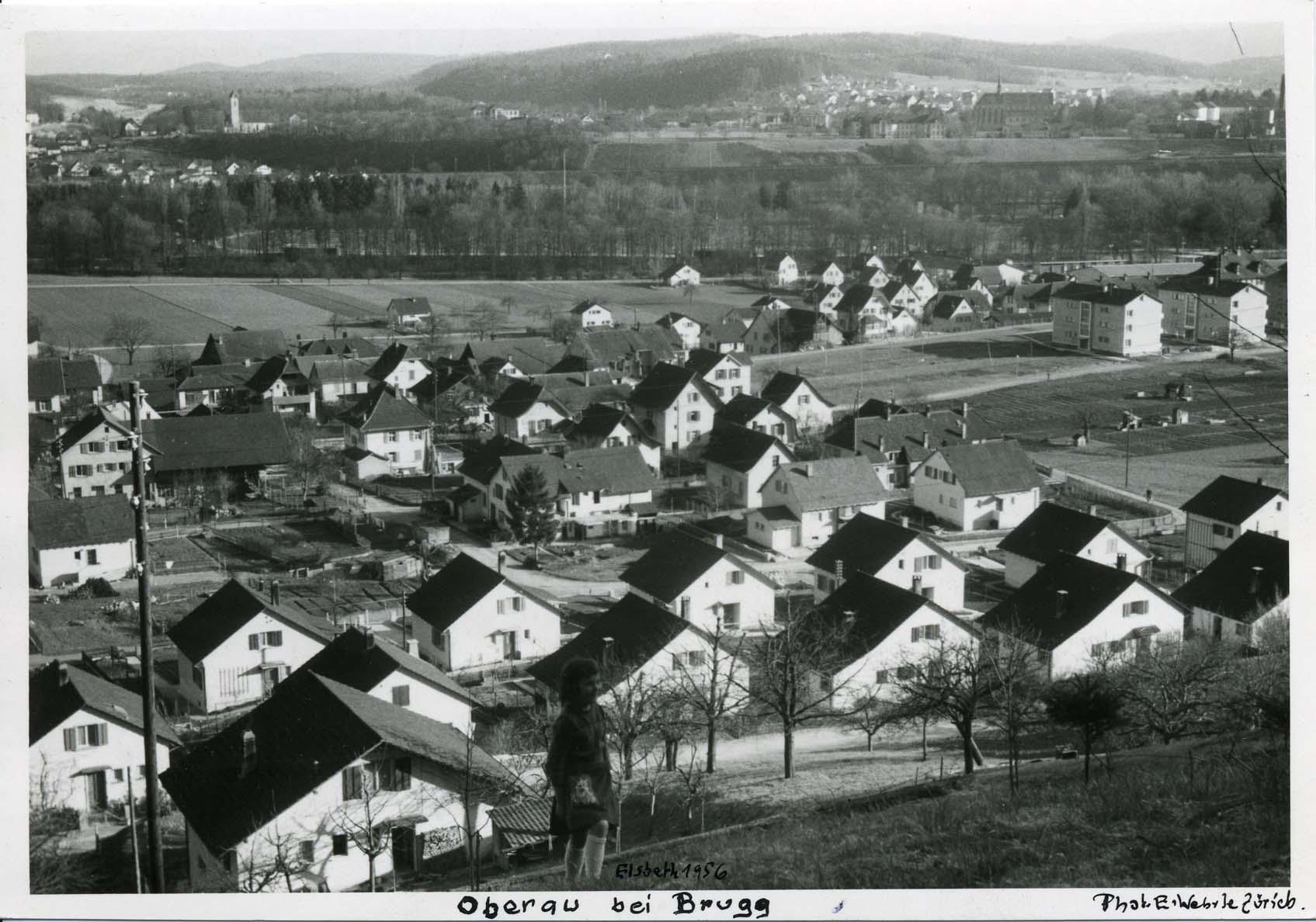 1956 - Lauffohr Au (Quelle: Sammlung Titus J. Meier, Brugg)