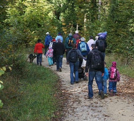 kultureller Anlass 22.10.2016: Waldrundgang mit dem Förster (Quelle: Privatfoto)