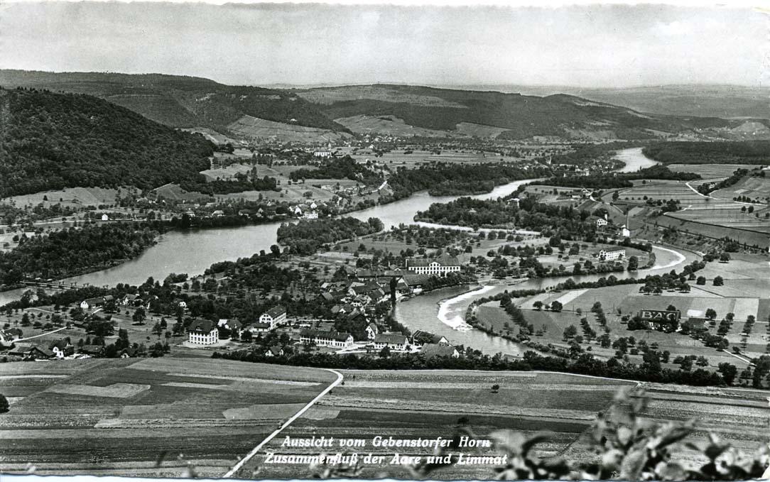 ca. 1930-er Jahre - Vogelsang und Lauffohr (Quelle: Sammlung Titus J. Meier, Brugg)