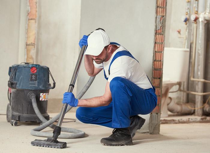 entreprise de nettoyage de fin de chantier