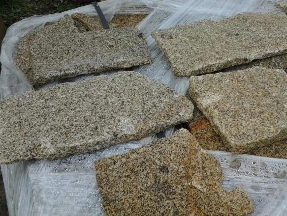 placage parement moellon pierre granit