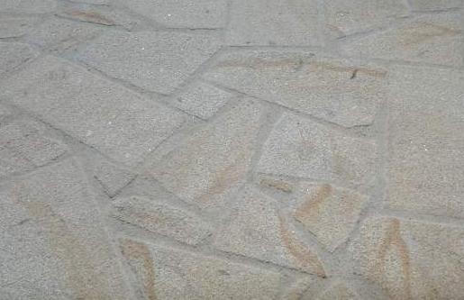 opus incertum granit jaune